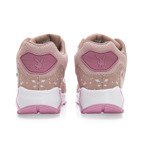 PLAYBOY悠閒步伐 耀眼星空氣墊運動鞋-粉
