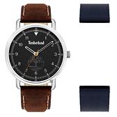 Timberland 天柏嵐 都會時尚大三針套錶-45mm TBL.15939JS/02AS