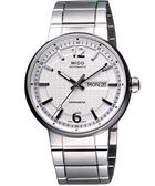 MIDO 美度 Great Wall 長城系列機械手錶-白 M0156311103700