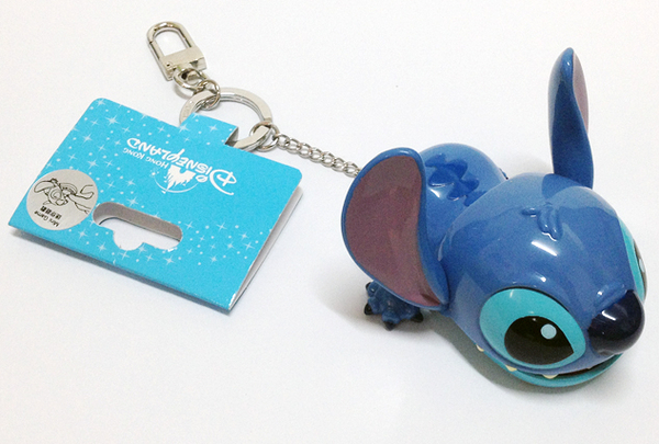 香港迪士尼 史迪奇趣味鑰匙圈
