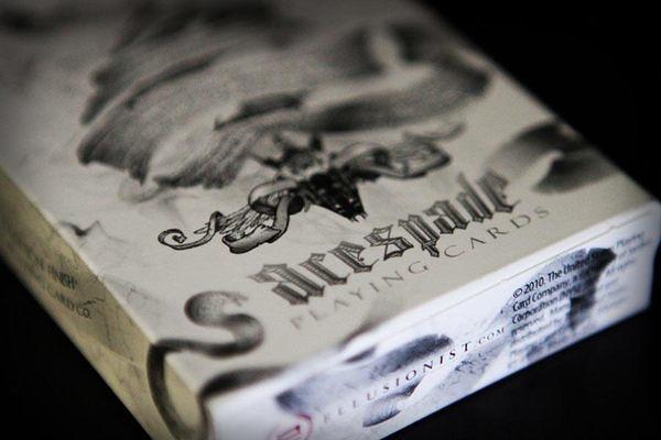 【USPCC撲克館】撲克牌 ARCANE GAFF DECK 白色