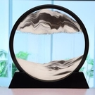 沙漏 簡約現代3D流沙畫創意沙漏工藝品家居辦公室客廳送男女裝飾品擺件 城市科技DF