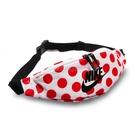 Nike 腰包 NSW Heritage Waist Bag 紅 白 男女款 點點 斜背包 【PUMP306】 CK4287-100