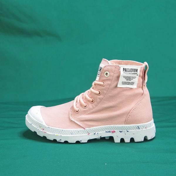 Palladium PAMPA HI ORGANIC 高統靴 正品 96199647 蜜桃色 女款【iSport愛運動】