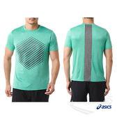 亞瑟士ASICS 男短袖T恤(綠) ASICSMOTIONDRY機能 乾爽舒適 151414-8051【 胖媛的店 】