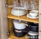 碗筷架 廚房用品置物架下水槽櫥柜碗碟架分層架子家用大全廚具收納架【3C環球數位館】
