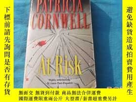 二手書博民逛書店PATRICIA罕見CORNWELL:AT RISK(有危險)Y