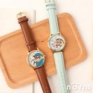 蠟筆小新手錶- Norns 正版授權 日本機芯皮革手錶 睡衣 制服