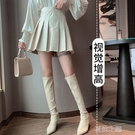 皮裙短款 高端小皮裙氣質百褶裙短裙半身裙a字裙女裙子季顯瘦秋款高腰 快速出货
