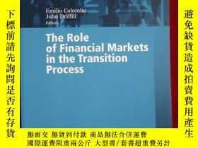 二手書博民逛書店The罕見Role of Financial Markets i