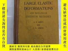 二手書博民逛書店large罕見elastic deformations and