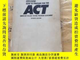 二手書博民逛書店Barron s罕見How to Prepare for the