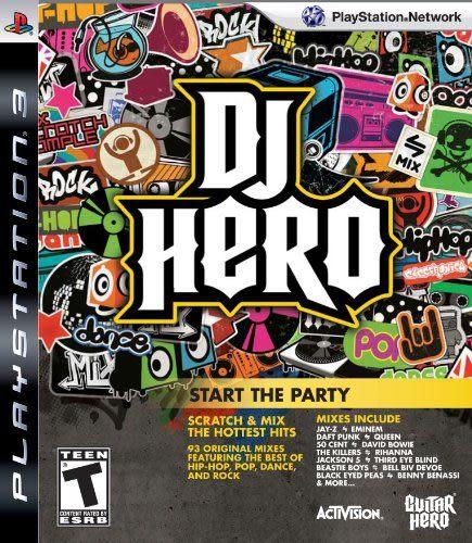 PS3 DJ Hero: Start the Party DJ 英雄(單軟體)(美版代購)