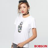 BOBSON 女款印圖涼感上衣(28096-80 )
