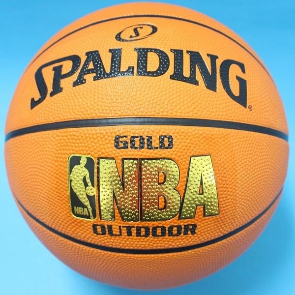 SPALDING 斯伯丁籃球 金字 NBA籃球 斯伯丁7號籃球/一個入{特690}