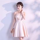 大碼伴娘服2021年新款洋裝裙女高端大氣優雅宴會尾牙氣質小禮服平時可穿