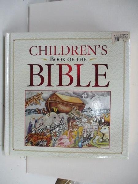 【書寶二手書T1/少年童書_DP1】Children s Book of the Bible