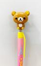 【震撼精品百貨】Rilakkuma San-X 拉拉熊懶懶熊~自動鉛筆-筆桿桃黃色