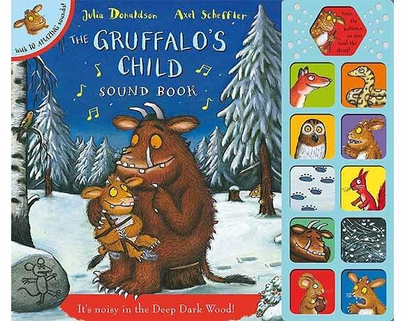 The Gruffalo's Child Sound Book 小古肥玀的探險 故事有聲書