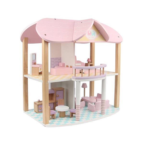 親親 木製渡假屋MSN19029【德芳保健藥妝】玩具 家家酒