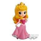 Banpresto 迪士尼Q Posket Disney 睡美人愛洛公主-(粉紅色禮服) 14cm BD35559原廠公司貨
