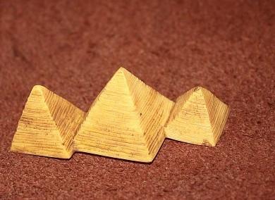 【協貿國際】仿真模型玩具場景擺件埃及金字塔(5入)