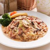 培根野菇燉飯套餐(附60元飲品)