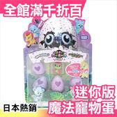 日本 TAKARA TOMY 迷你版魔法寵物蛋 4+1個 安啾介紹 HATCHIMALS【小福部屋】