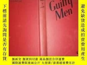 二手書博民逛書店(英文原版)Guilty罕見Men(有罪人 毛邊書) Y3615