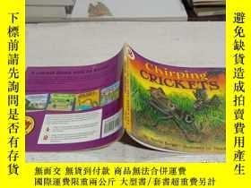 二手書博民逛書店Chirping罕見Crickets (Let s Read and Find Out) 自然科學啟蒙2:蟋蟀叫不
