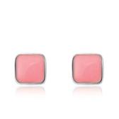 925純銀耳環(耳針式)-時尚典雅生日情人節禮物女配件73al35【巴黎精品】