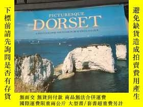 二手書博民逛書店PICTURESQUE罕見DORSET A PHOTOGRAPHIC SOUVENIR IN BEAUTIFUL