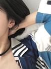 幾何三角形s925純銀耳環女冷淡風網紅潮...