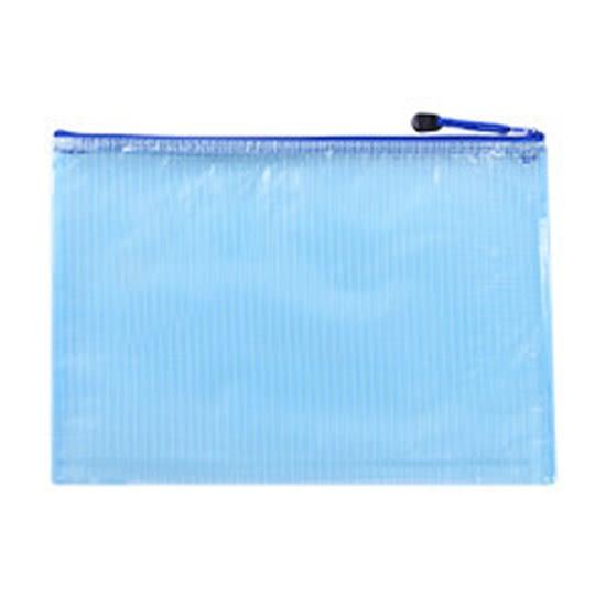 A4 A5 B5 文件袋 手提袋 防水袋 資料袋 資料夾 拉鍊袋 文具袋 學生 網格拉鍊袋【B030】MY COLOR