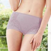 【曼黛瑪璉】2014AW中腰三角無痕修飾褲M-XL(低調紫)(未滿3件恕無法出貨,退貨需整筆退)