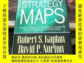 二手書博民逛書店Strategy罕見Maps:Converting Intangible Assets into Tangible