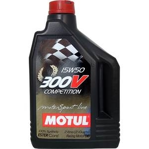 MOTUL 300V COMPETITION 15W50雙酯全合成機油