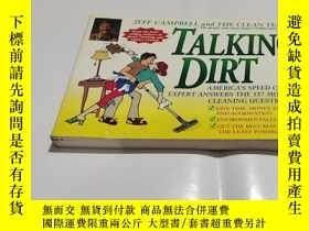 二手書博民逛書店Talking罕見Dirt: America s Speed Cleaning Expert Answers th