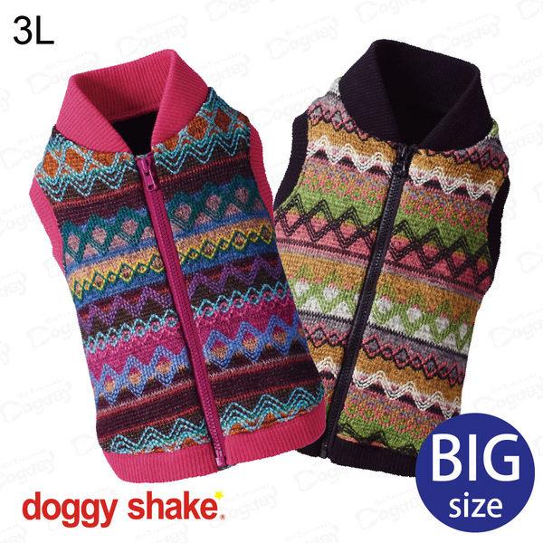 日本《Doggy Shake》彩色針織背心 XL/3L 大狗發熱衣 大狗衣服 哈士奇/拉拉/米克斯/柯基