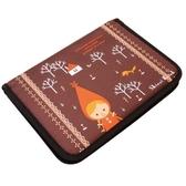 《Shinzi Katoh 加藤真治》小紅帽B5筆記本書套包★funbox生活用品★_ZI01922