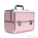 專業手提美容美甲美睫收納盒工具箱美甲師專用多功能紋繡化妝箱子 黛尼時尚精品