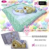 嬰兒禮盒毛毯【月亮與熊】100*140 cm/御芙專櫃/日本發熱紗/超細0.8D雙層設計
