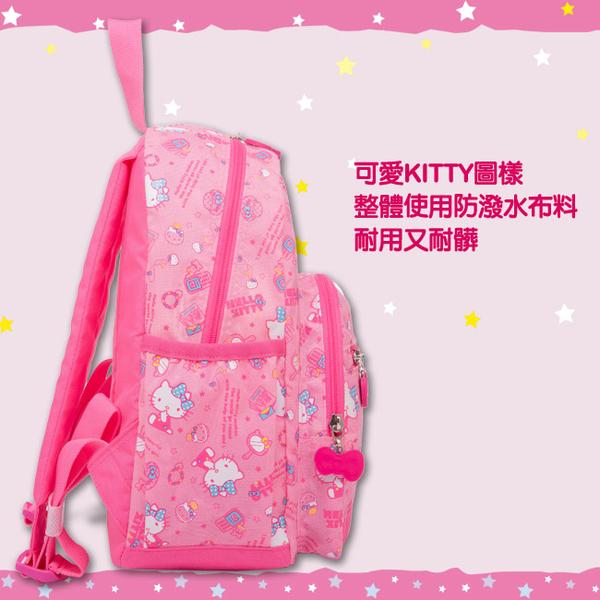 Hello Kitty-休閒潮流Ⅱ-後背包-大-粉紅-KT88B02PK