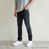 【GIORDANO】男裝彈性輕薄牛仔褲 - 91 深藍