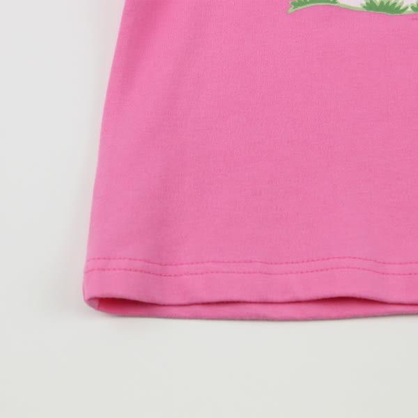 【愛的世界】圓領水果百匯拚接短袖上衣/6~8歲-台灣製- ★春夏上著 夏出清