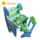 幼之圓*【kikimmy】恐龍升降書桌椅組~木製兒童成長書桌椅~氣壓式升降~