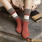 襪子女加厚保暖毛巾襪毛圈長襪女秋冬日系中筒襪堆堆襪【小獅子】