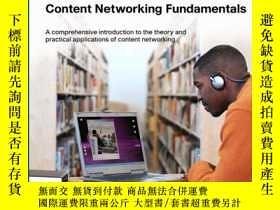 二手書博民逛書店Content罕見Networking Fundamentals-內容網絡基礎Y443421 Silvano