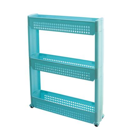 儲物架 三層衛生間置物架 多功能浴室儲物架 衛浴廚房夾縫收納架T 2色