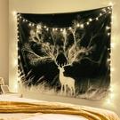 民宿網紅ins掛布少女心房間改造背景布臥室墻壁裝飾床頭墻布掛毯微愛
